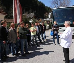 Eindrücke von der Jungzüchterexkursion am  29.März 2014 in die Oststeiermark