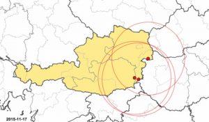 Grafik 1 17.11.2015 betroffene Betriebe in Österreich
