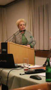 Landesrätin Verena Dunst bei der Festansprache